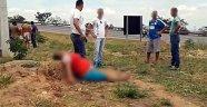 Genç kadının karnını kesip bebeğini çaldılar