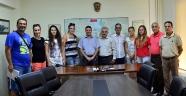 Gençlik Hizmetleri Ve Spor İl Müdürü Ataşbak, Şakirpaşa Genç  Spor Kulübü Kadın Hentbol Takımını Kabul Etti