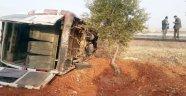 İşçileri taşıyan minibüs takla attı! 15 yaralı