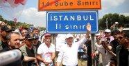 Kılıçdaroğlu, İstanbul'a giriş yaptı