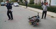 Lise müdürünün çarptığı motosikletli genç öldü