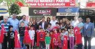 MHP Seyhan 23 Nisan sevincini çocuklarla yaşadı