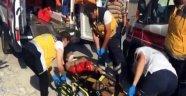 Öğrenciler halı silkelerken yere çakıldı