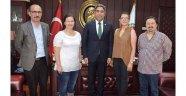 Oy ve Ötesi Adana Barosu'nu ziyaret etti