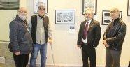 Sanatseverler 'Çizgilerle Adana'ya hayran kaldı