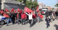 Şehit cenazesinin geçiş güzergahına bombaya 1 tutuklama