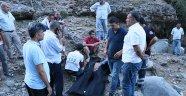 Serinlemek için şelaleye giren aileden üç kişi hayatını kaybetti