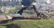 Suriye sınırına hendek kazılıyor