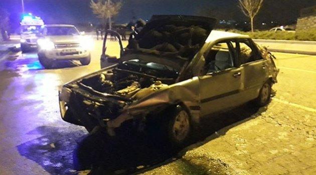 Trafik kazası! 1 ölü, 1 yaralı