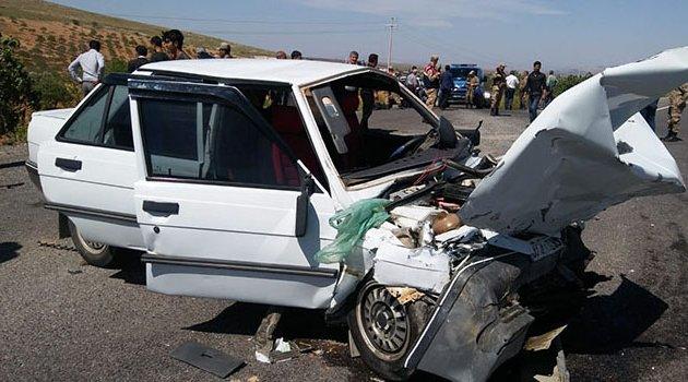 Trafik kazası! 2 ölü 7 yaralı
