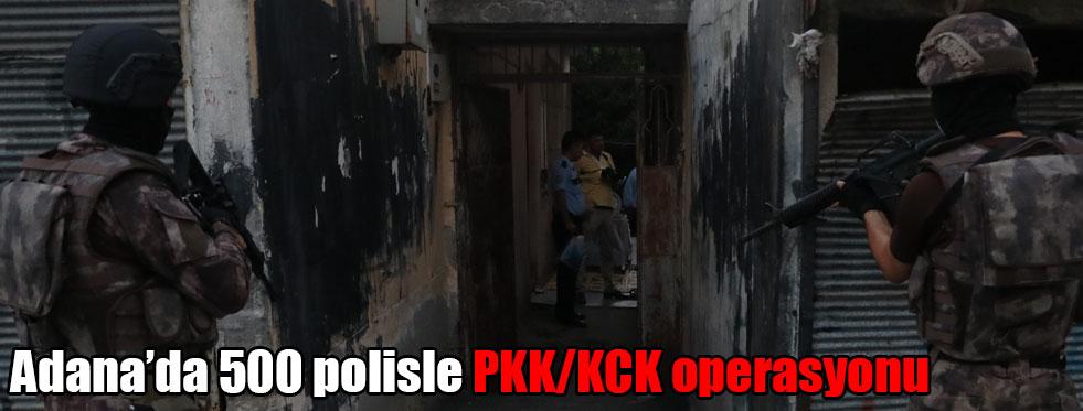 500 Polisle PKK/KCK Operasyonu