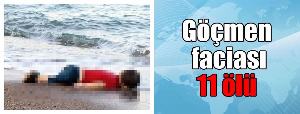 Art arda göçmen faciası: 11 ölü