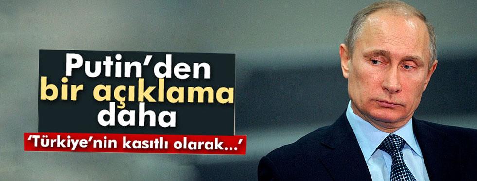 Putin'den bir Türkiye açıklaması daha