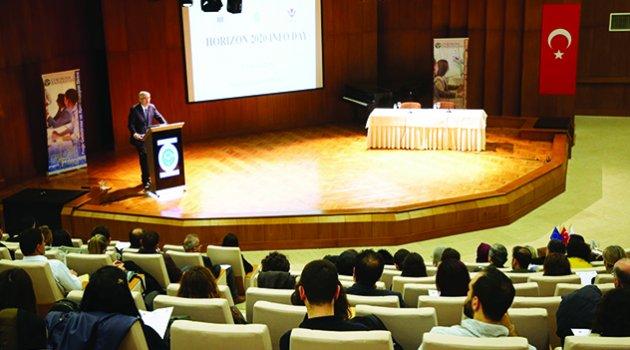 'Ufuk 2020 Programı Bilgi Günü' ilgi gördü