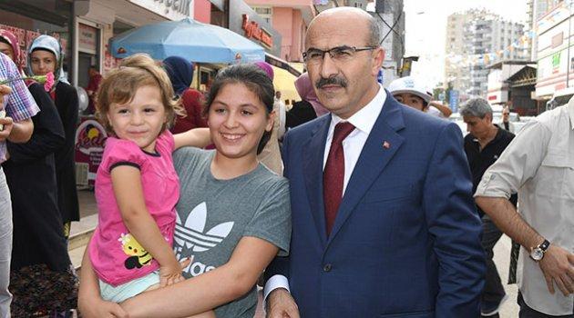 Vali Demirtaş halkla buluştu