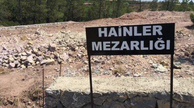 Vatan Hainleri Mezarlığı İlk Kez Görüntülendi