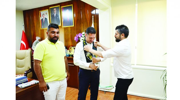 Vefaspor'dan Ataşbak'a ziyaret