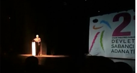 21. Uluslararası Adana Tiyatro Festivali'nin açılışı yapıldı