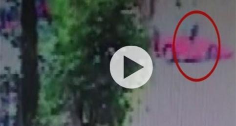 Silahlı saldırgan görüntülendi