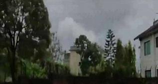Fırtına görüntüleri ortaya çıktı