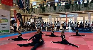 Avrupa Spor Haftası Etkinlikleri 01 Burda AVM'de Başladı