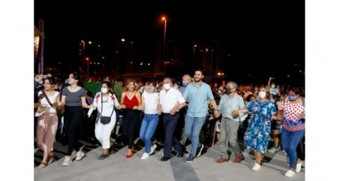 Grup Abdal Söyledi, Başkan Akay halay çekti