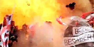 Ankara'da patlama anı..