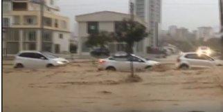Mersin'de Sel Felaketi