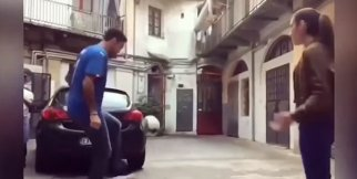 Gianluigi Buffon'u rezil eden kadın