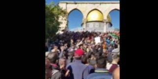 Kudüs'te protestolar devam ediyor
