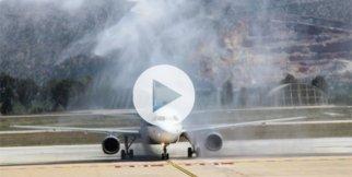 İlk uçak Türkiye'de