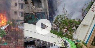Uçak düştü: 5 ölü