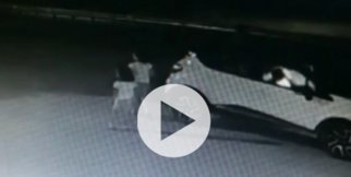 Küçük kızların öldüğü kaza kamerada