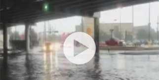 Teksas sular altında kaldı