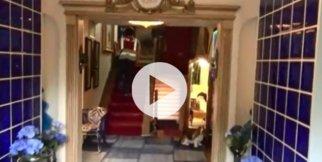 Adnan Oktar'ın villası görüntülendi